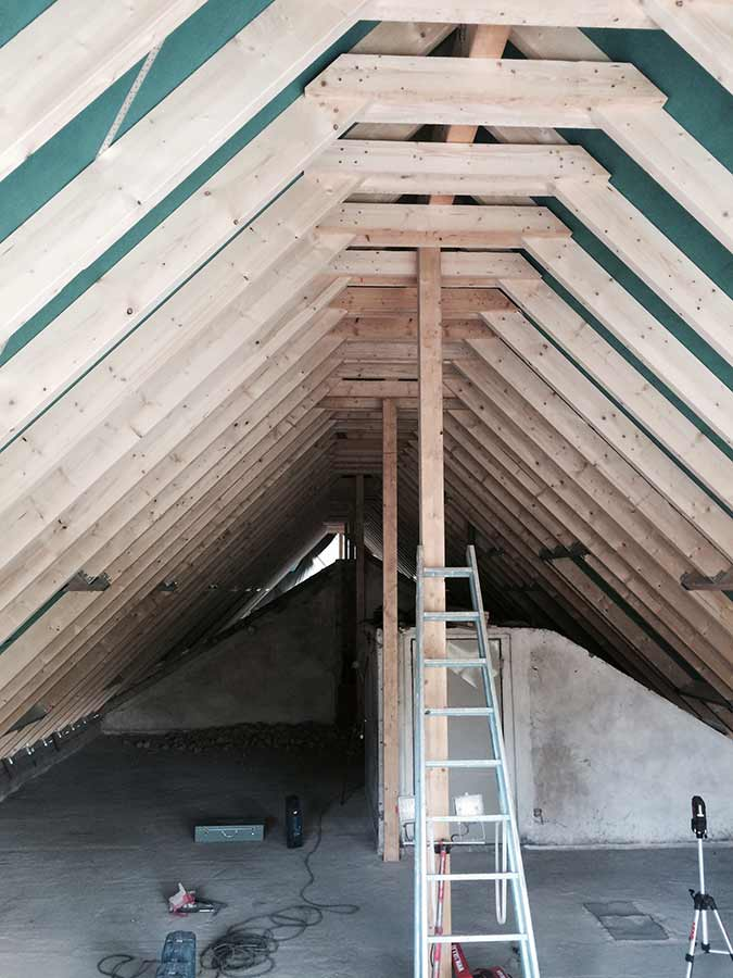 Erneuerung-Dachstuhl-DG-Ausbau