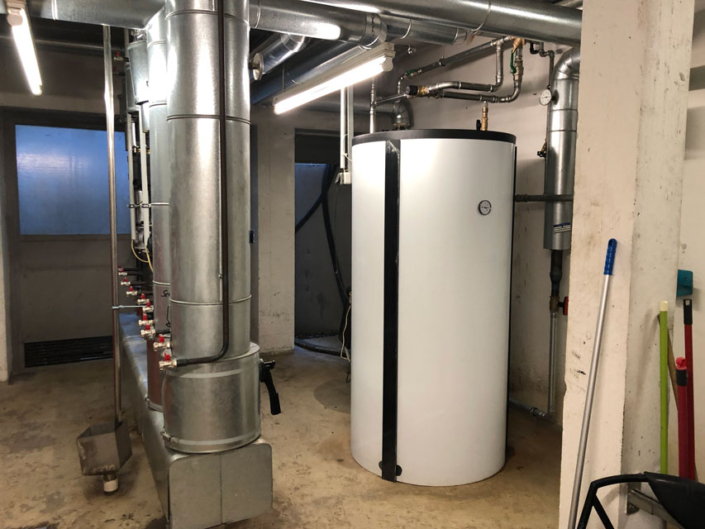 Hochleistungswarmwasserspeicher