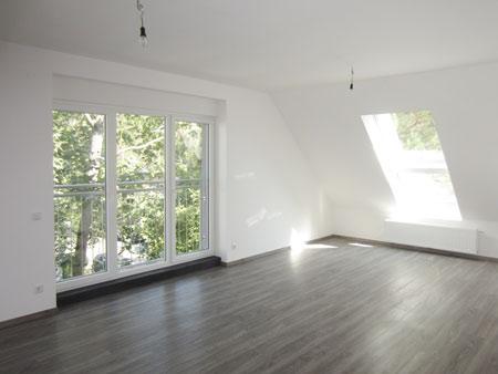 11_Dachgeschossausbau_Wohnzimmer